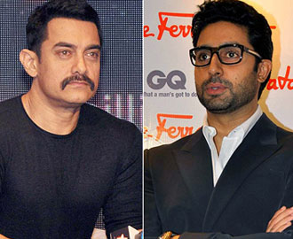 Aamir, Abhishek unveil 'Dhoom 3' trailer