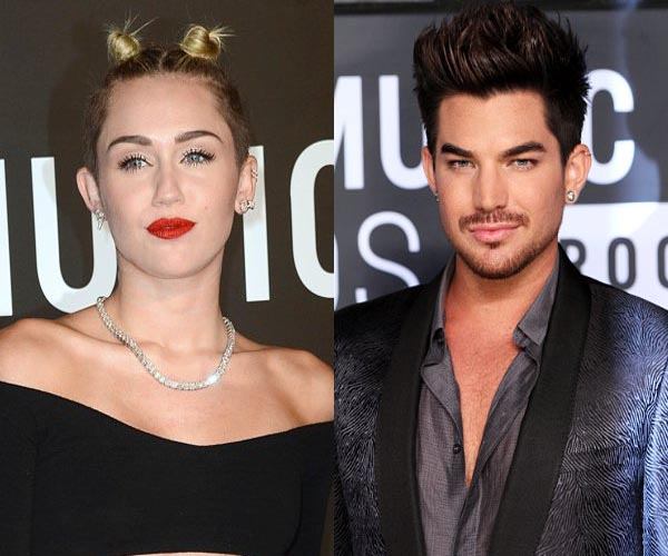 Adam Lambert defends Miley Cyrus