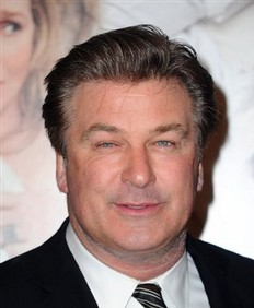 Alec Baldwin back to work after brief hospital stay