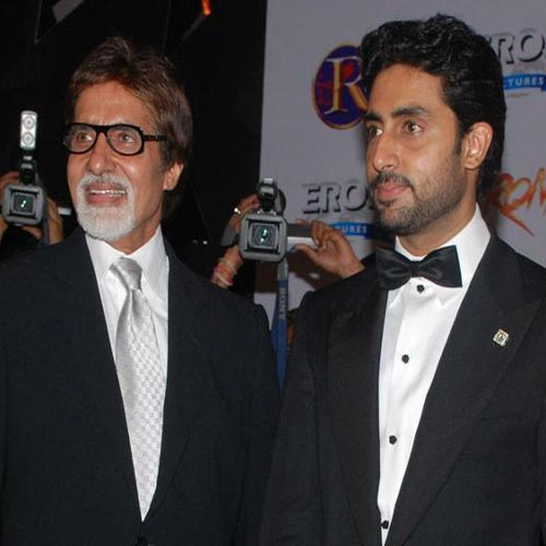 Best to be Abhishek's friend, confidante: Big B