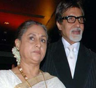 Big B in Dubai on Jaya's 66th b'day