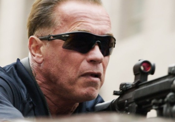 Arnold Schwarzenegger still doing his stunts at 66