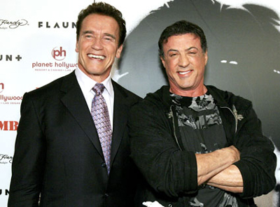 Melbourne, Feb 9 : Arnold Schwarzenegger and Sylvester Stallone will co-star ...