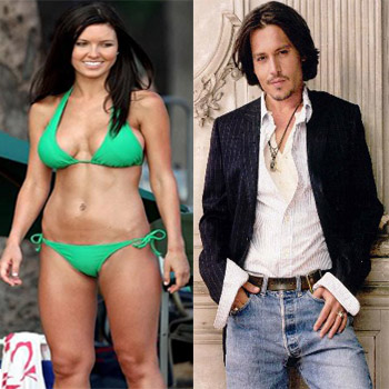 Audrina Patridge Johnny Depp