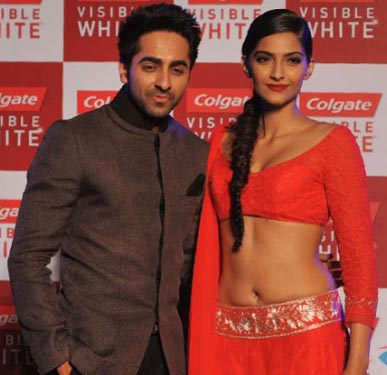 Sonam, Ayushmann moved by acts on 'Boogie Woogie'