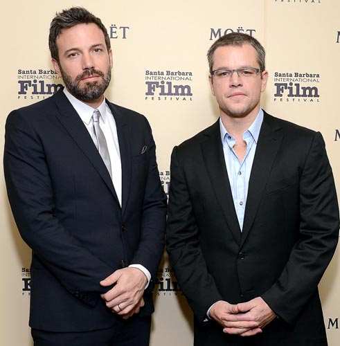 Ben Affleck, Matt Damon team up for TV drama