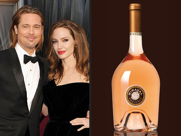 First wine from Pitt and Jolie''s French vineyard hits web