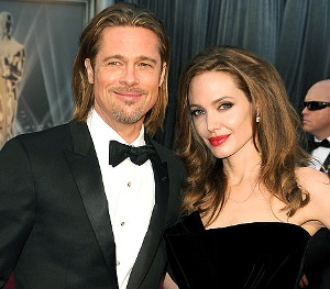 Brad Pitt gets Angelina Jolie breath mints for Valentines Day