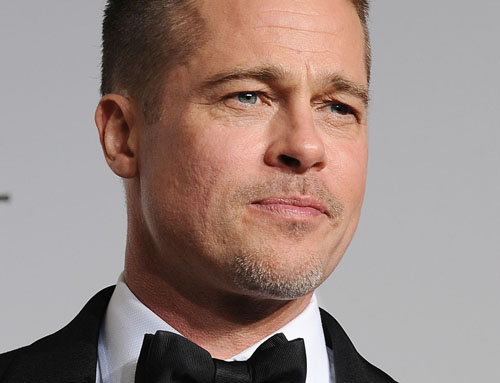 Brad Pitt calls red carpet attacker 'nutter'