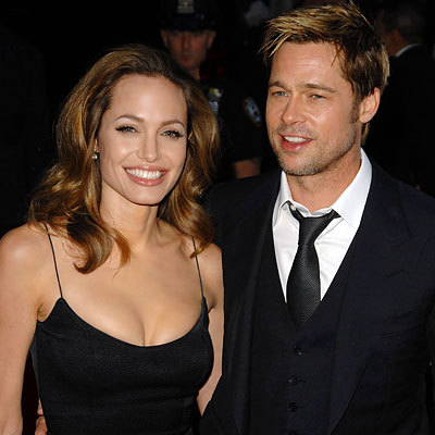 brad pitt and angelina jolie 2010. Pitt, Jolie rent island for