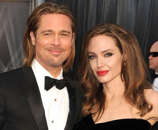 Brangelina `may have tied the knot` on Xmas