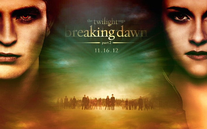 Breaking Dawn Part 2 expected to smash Thanksgiving box office records