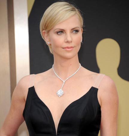 Police question Charlize Theron over screaming son
