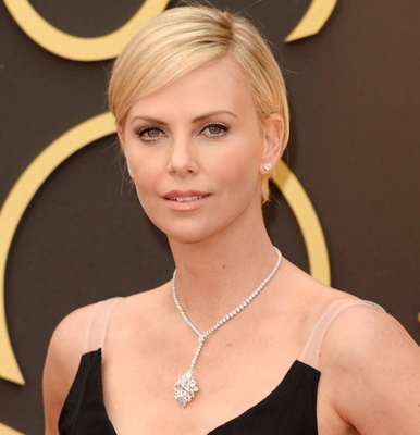 Charlize Theron says 'it's nice to be not single'