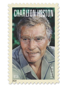 Charlton Heston gets honoured with postage stamp