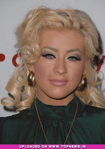 Christina Aguilera''s soft-porn style perfume ad