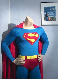 Iconic Superman and Batman costumes to go under the hammer