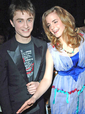 'Harry Potter' stars Daniel Radcliffe and Emma Watson
