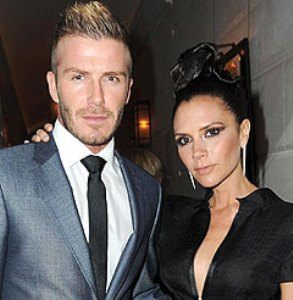 Posh and Becks named Best Parent `Role Models`