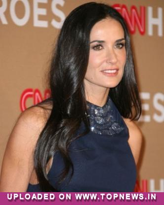Demi Moore displays frail frame in wake of Kutcher-Kunis'' blooming romance
