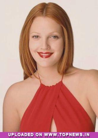 drew barrymore red hair. Drew Barrymore dyes her hair