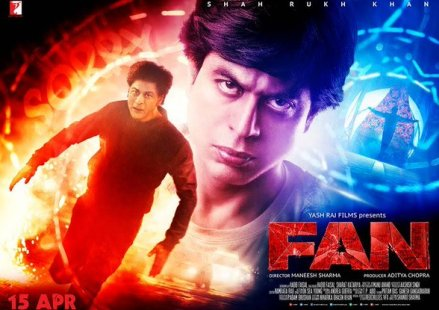 SRK's 'Fan' mints Rs.19.20 crore on opening day