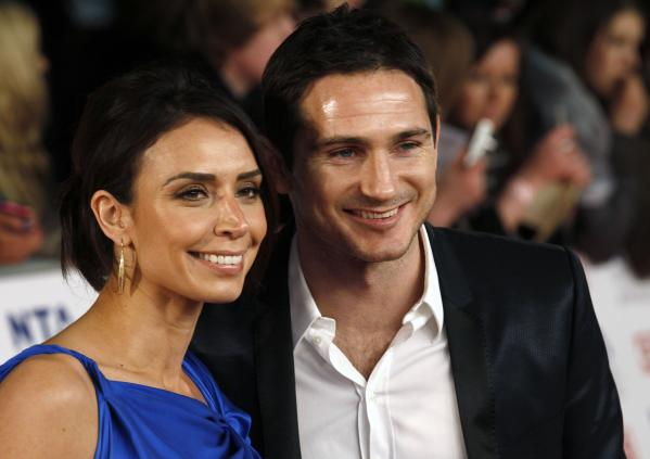 Frank Lampard couple