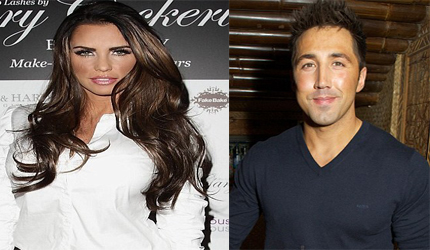 Katie Price `dating rugby star Gavin Henson`