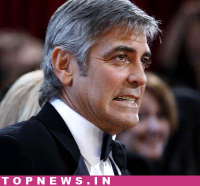 george clooney suit. George Clooney testified