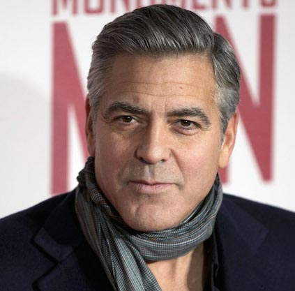 George Clooney wants to be stay-at-home dad?