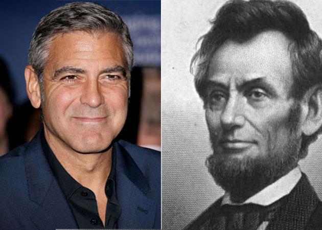 George Clooney `related` to Abraham Lincoln