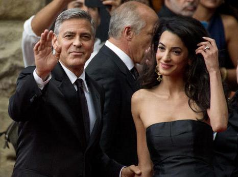 Newly married Clooney wants to stay-at-home dad