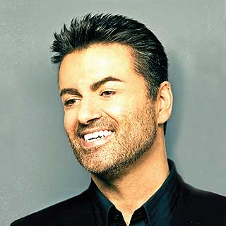 Singer George Michael