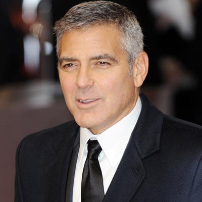 Clooney laughs off gay rumours