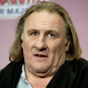 actor Gerard Depardieu...