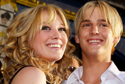 Aaron Carter desperate to get back with newly single Hilary Duff
