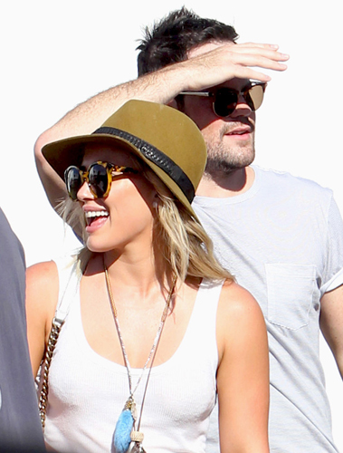 Hilary Duff and Mike Comrie 'very good friends' despite separation
