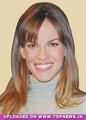 Hilary Swank to design ''athleisure'' apparel