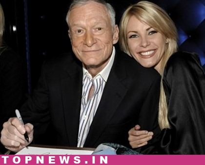 Hugh Hefner 'optimistic' about his third marriage to 24-yr-old Crystal Harris