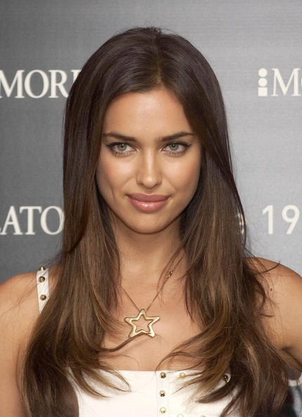 Irina Shayk displays impressive pair of pins at jewellery launch