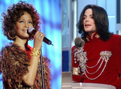 MJ and Whitney Houston set to become 1st R 'n' B hall of fame inductees