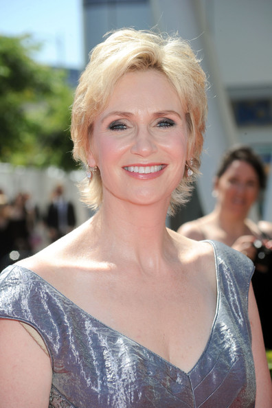 Now, Glee's Jane Lynch poses for racy photo shoot