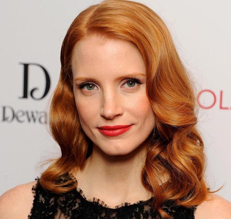Jessica Chastain raided dumpster for furniture
