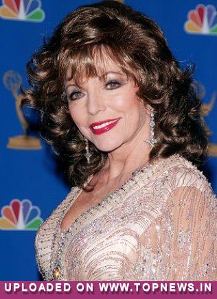 Stay slim with tequila and toothpaste, says Brit actress Joan Collins