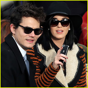 John Mayer `quite happy` since he began dating Katy Perry