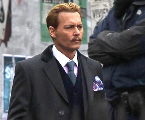 Johnny Depp starrer 'Mortdecai' set to release in 2015