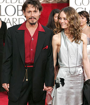Meet Johnny Depp, Vanessa Paradis, the unhygienic couple!