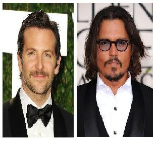 Bradley Cooper and Johnny Depp sign on for hot new roles