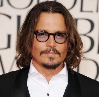 Johnny Depp to be honoured by hair, make up artists
