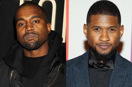 Kanye West, Usher